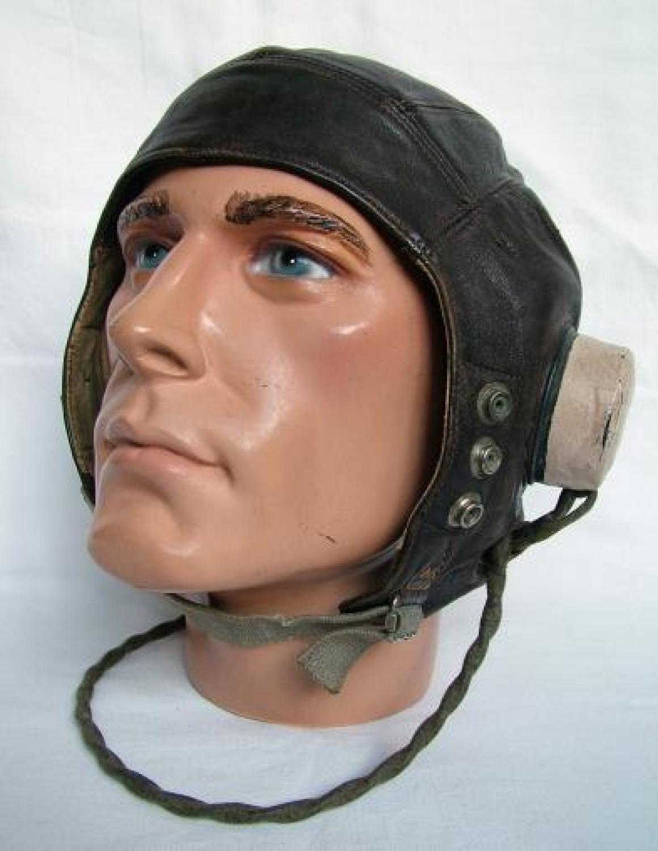 USAAF Modified RAF C-type Flying Helmet