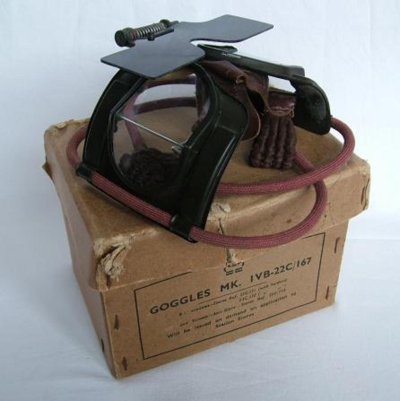 RAF MK.IVB Flying Goggles, Complete, Boxed