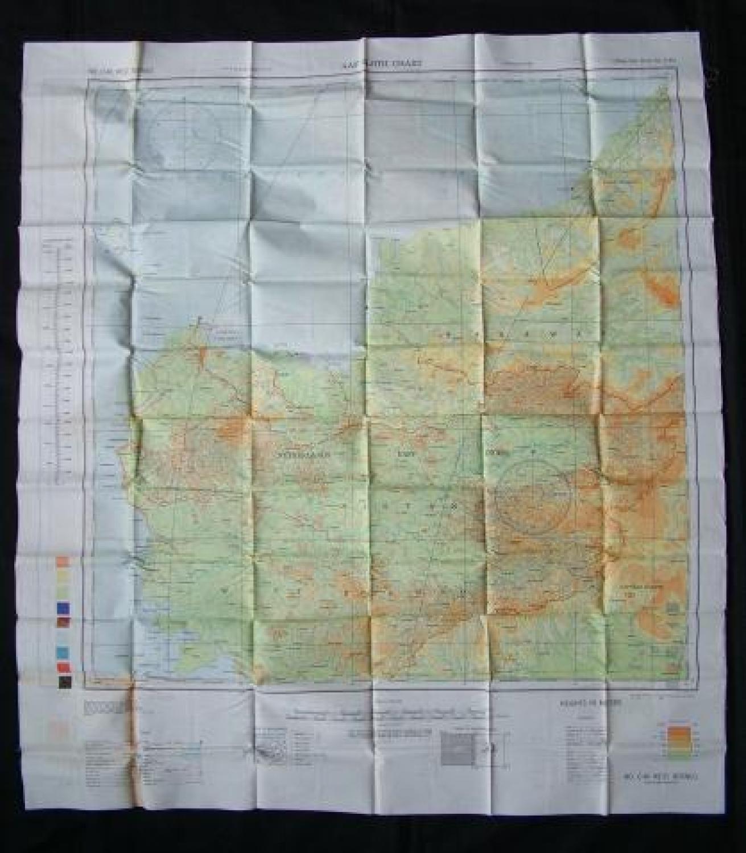 U.S.A.A.F. Escape & Evasion Map