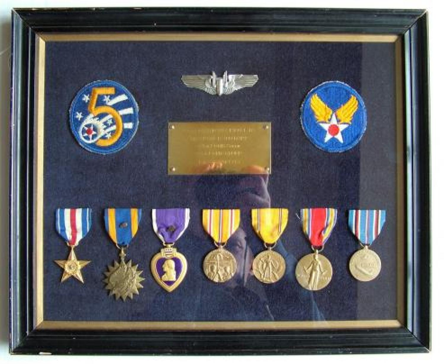 USAAF Radio Operator's Medal Group/Research