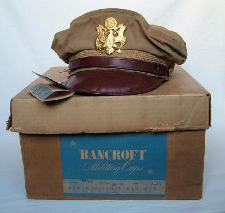USAAF Bancroft 'Flighter' Visor Cap, History