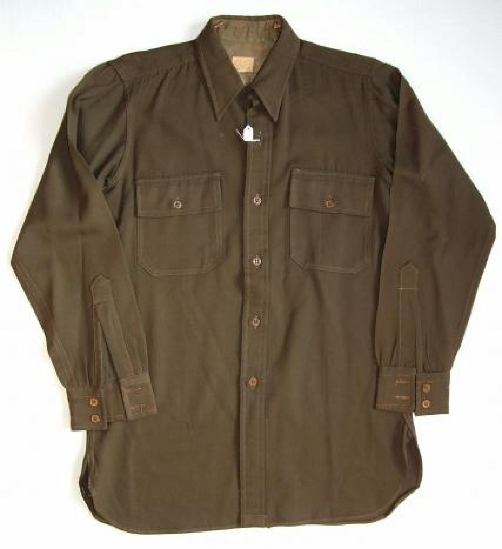 U.S.A.A.F. Officer's 'Chocolate' Shirt