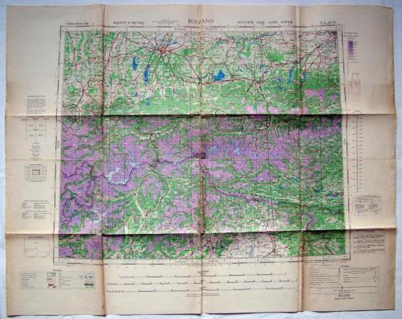 RAF / AAF Flight Map - Bolzano