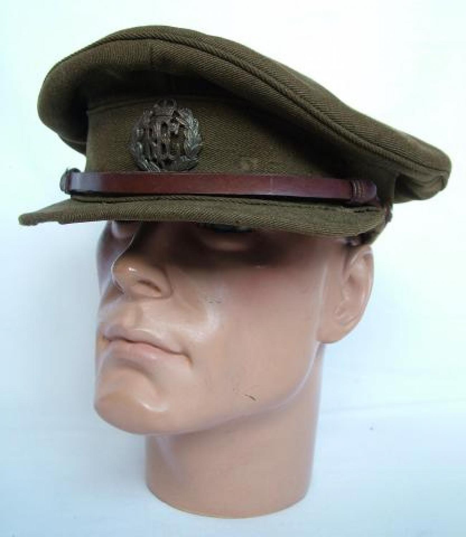RFC  Officer Rank Service Dress Cap