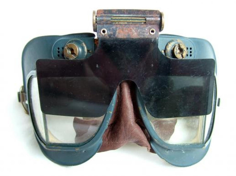 RAF MK.VII Flying Goggles c/w FlipShield