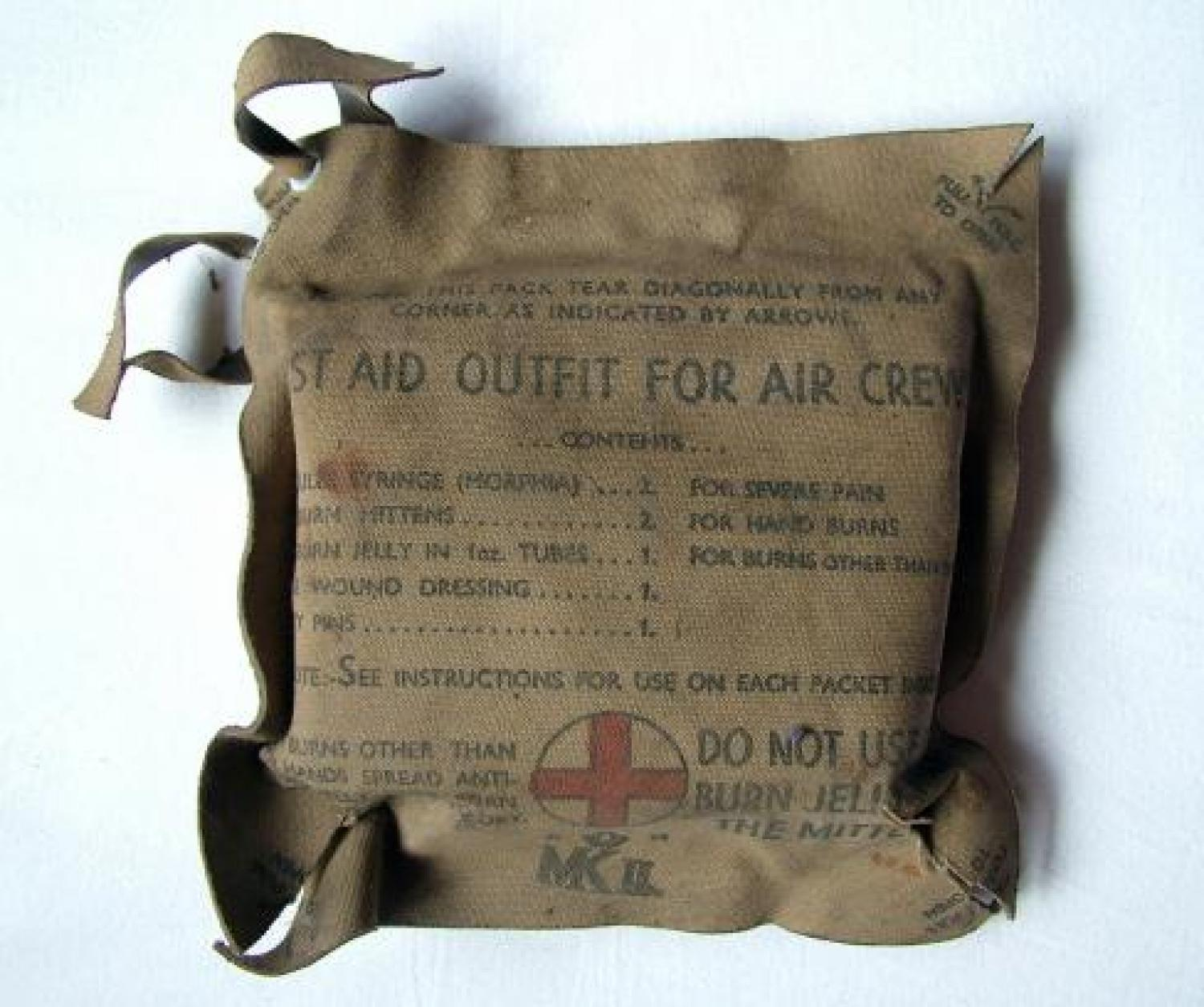 First Aid Outfit For Aircrews, MK.II
