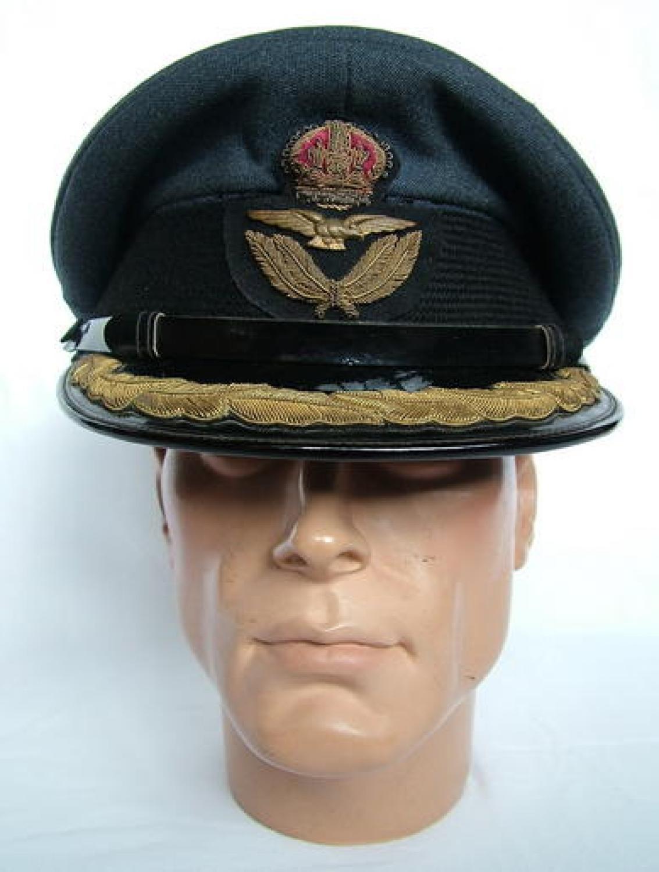 RAF Group Captain Rank Service Dress Cap