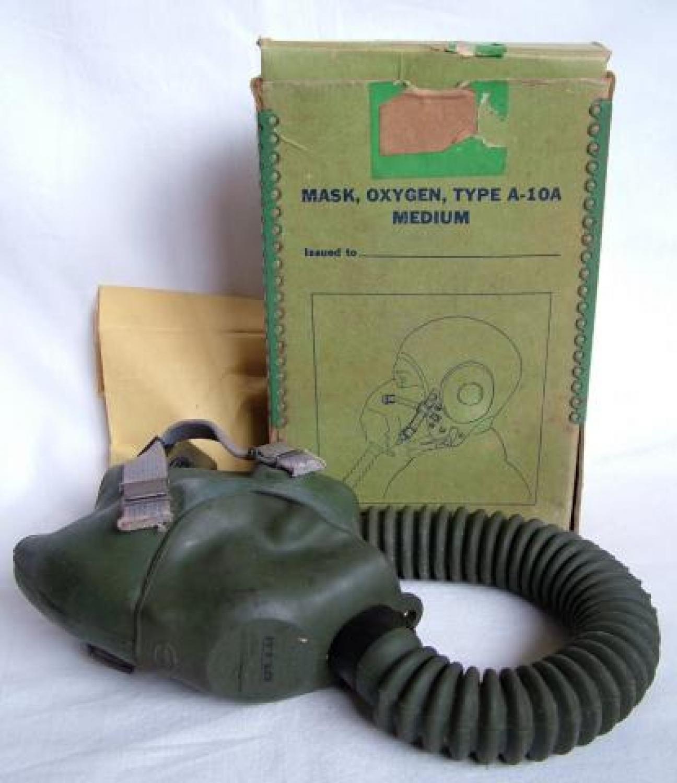 USAAF A-10A Oxygen Mask, Boxed