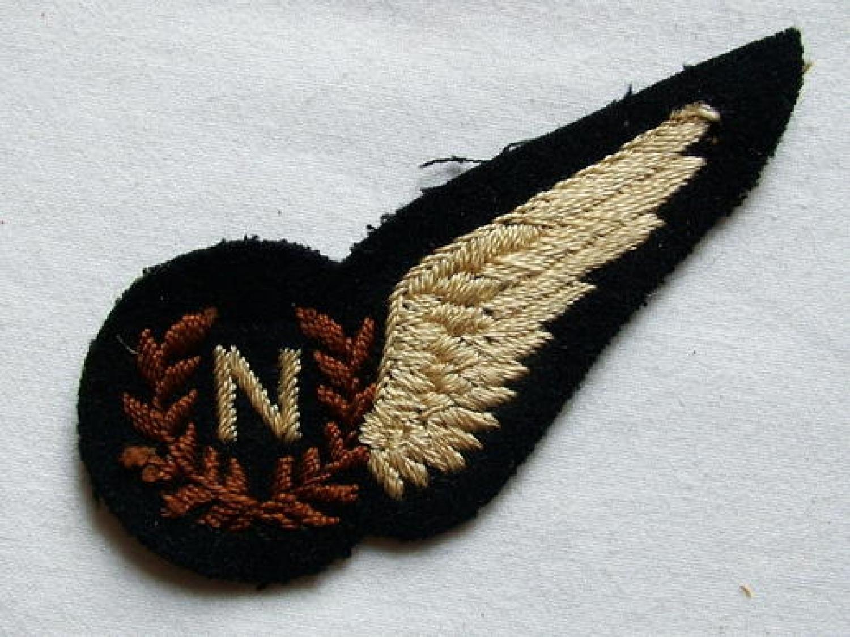 R.A.F. Navigator Brevet