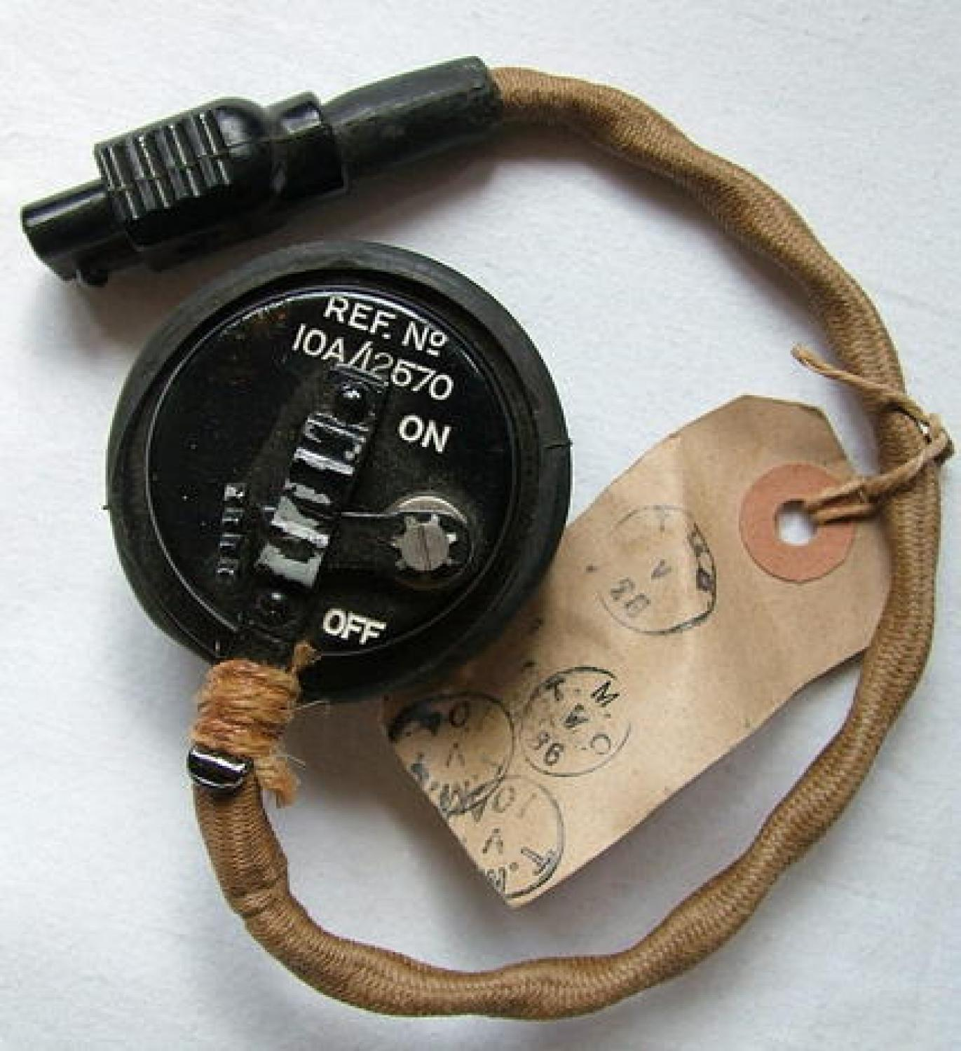 R.A.F. Type 48 Microphone Assembly