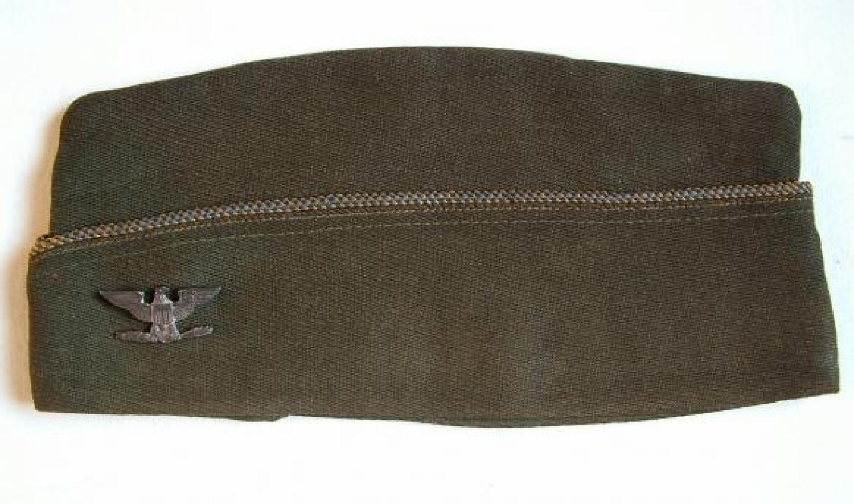 USAAF Officer's 'Chocolate' Garrison Cap