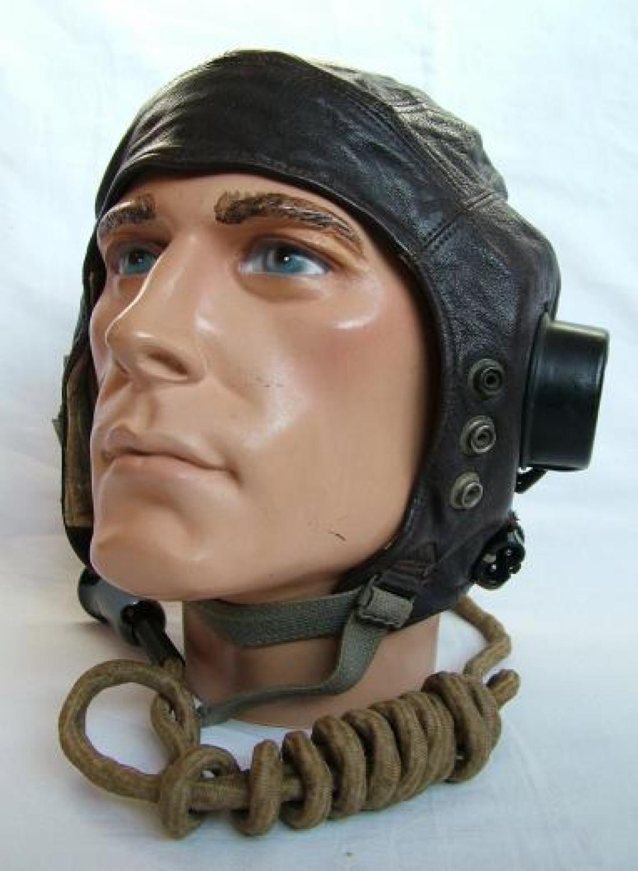 RAF C-type Flying Helmet - 1st Late Patt.