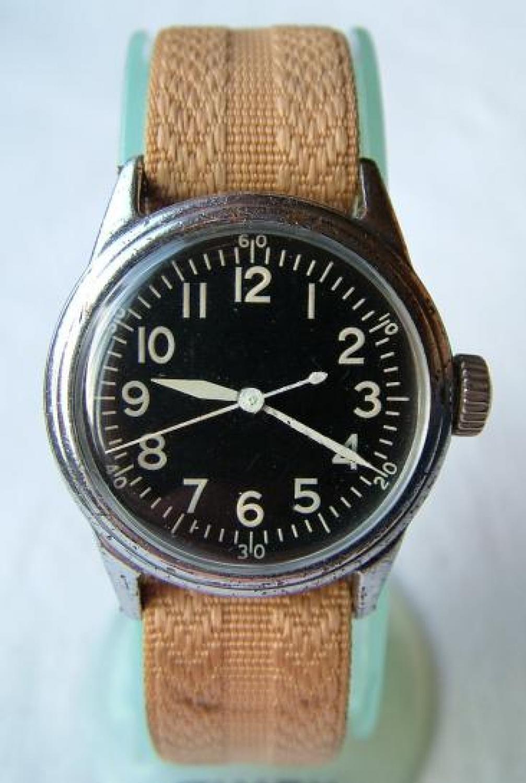 USAAF A-11 Wristwatch - Ex. 8th AAF Pilot