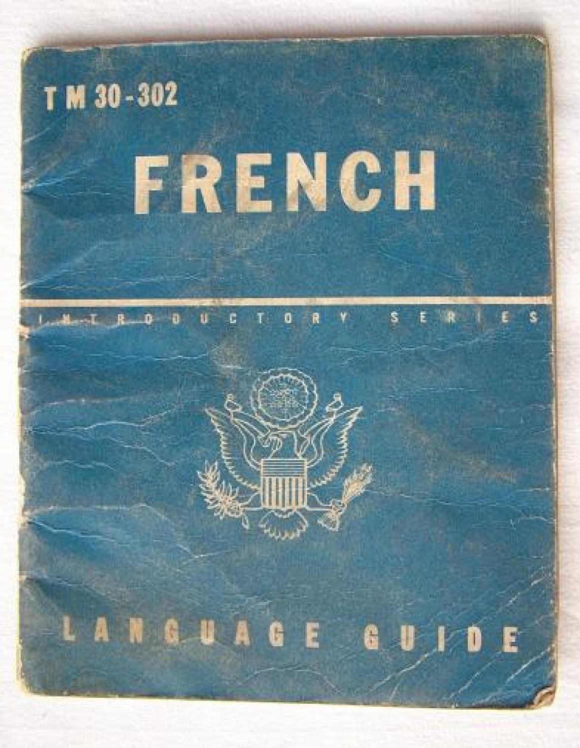 USAAF French Language Guide, Ex 8th AAF Pilot