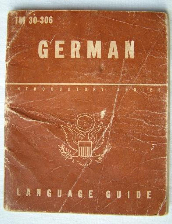 USAAF German Language Guide, Ex 8th AAF Pilot