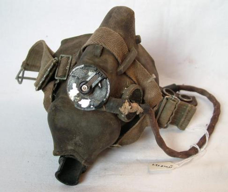 RAF Type H Oxygen Mask - WW2 Dated