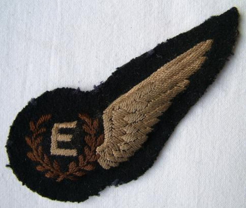 R.A.F. Flight Engineer Brevet