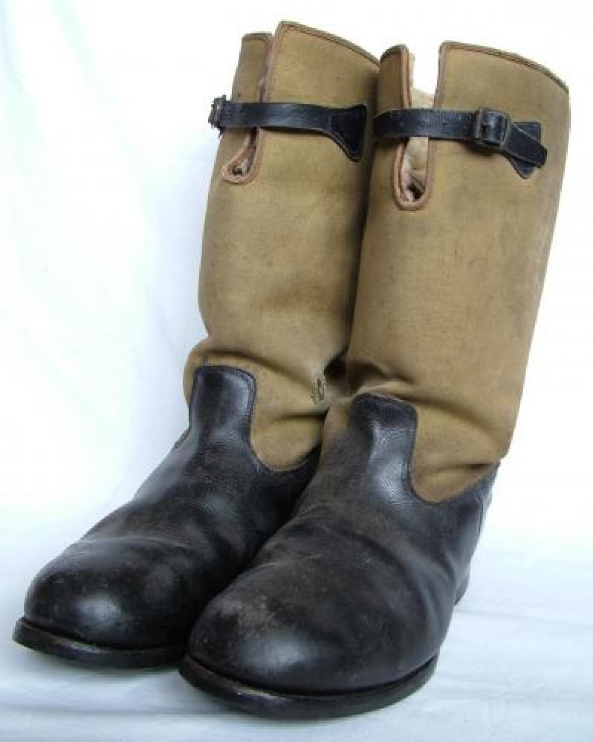 R.A.F. 1939 Pattern Flying Boots