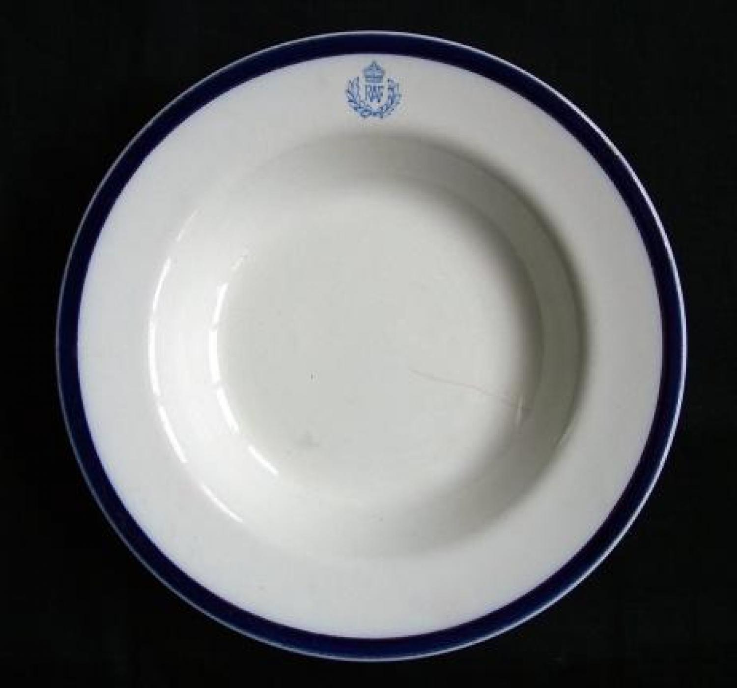 R.A.F. Officers' Mess Soup Bowl