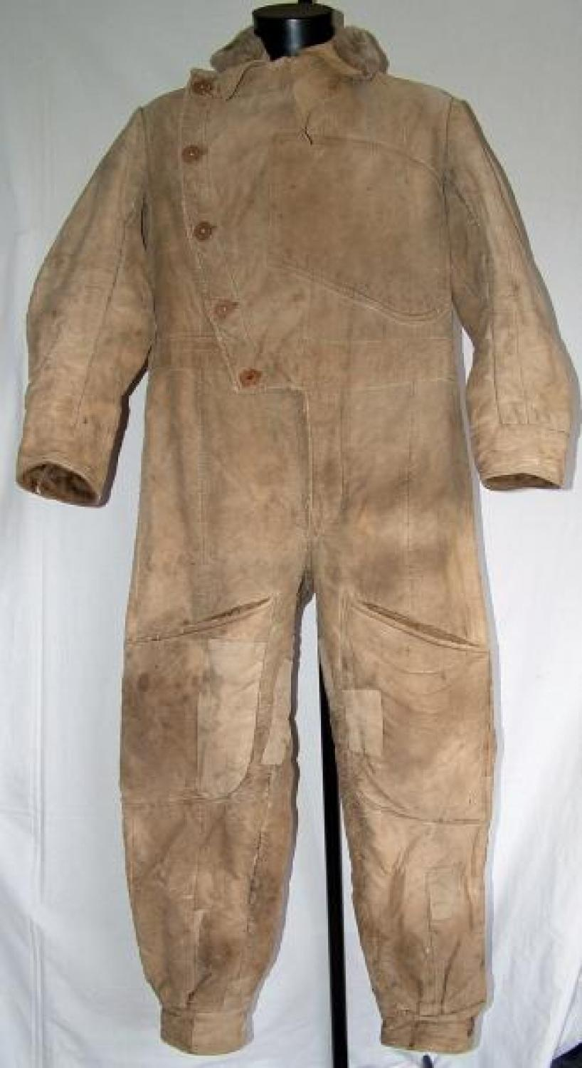 WW1 R.F.C. Sidcot Flying Suit