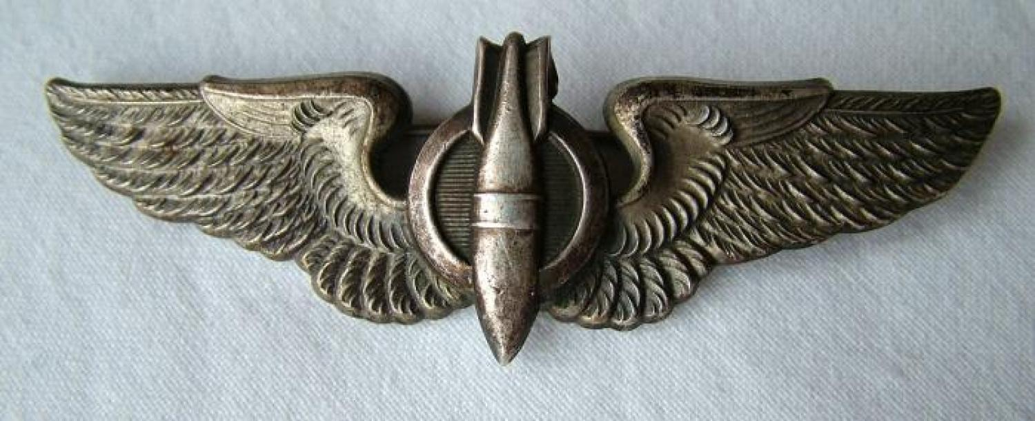 USAAF Bombardier Wing, English Made, Firmin