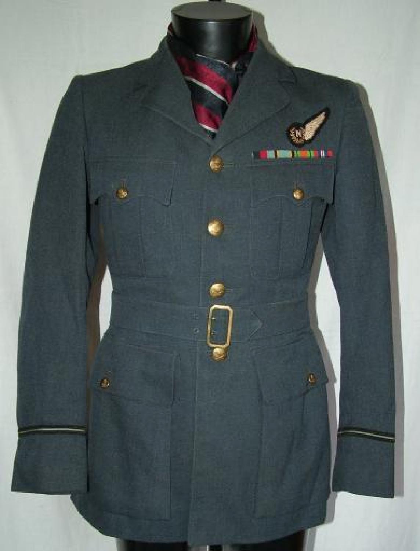 RAF Navigator's Service Dress Tunic, 102 Sqn.