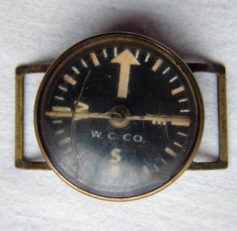 Wristcompass - Ex 8th AAF Pilot