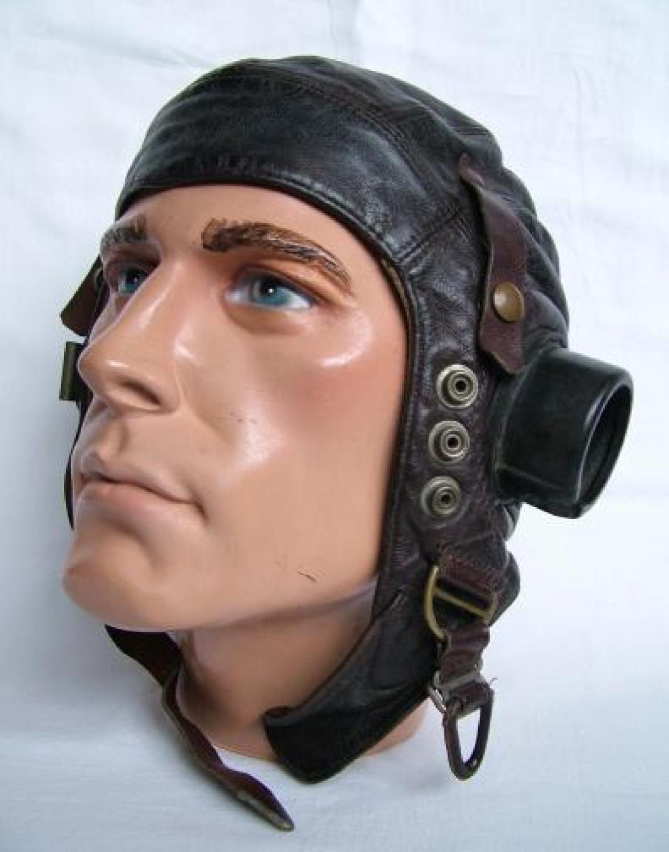 R.A.F. C-type Flying Helmet - Early Pattern