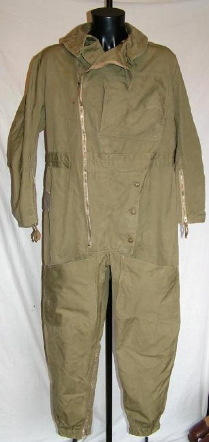 RAF 1940 Patt. Sidcot Flying Suit, Modified