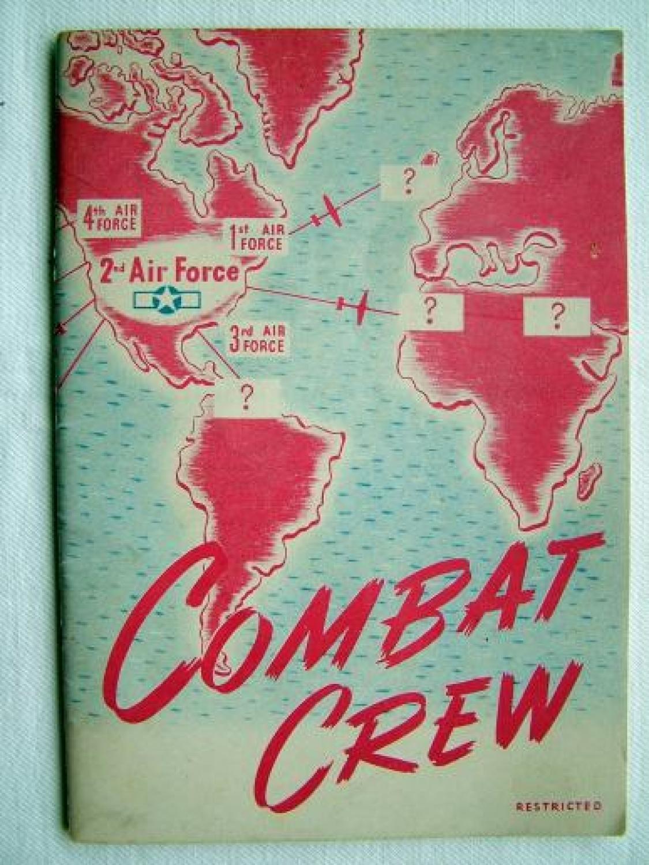 U.S.A.A.F. Combat Crew Booklet