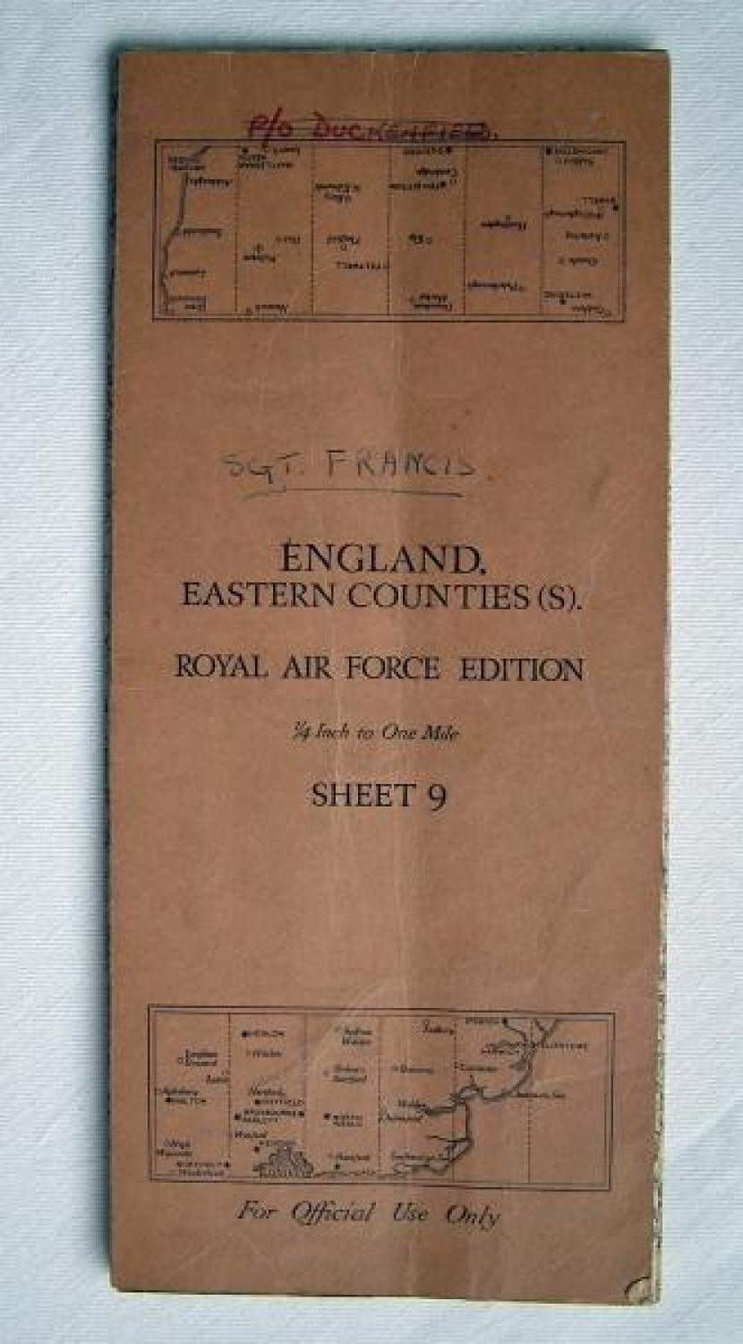 RAF Map - England. Eastern Counties (S)