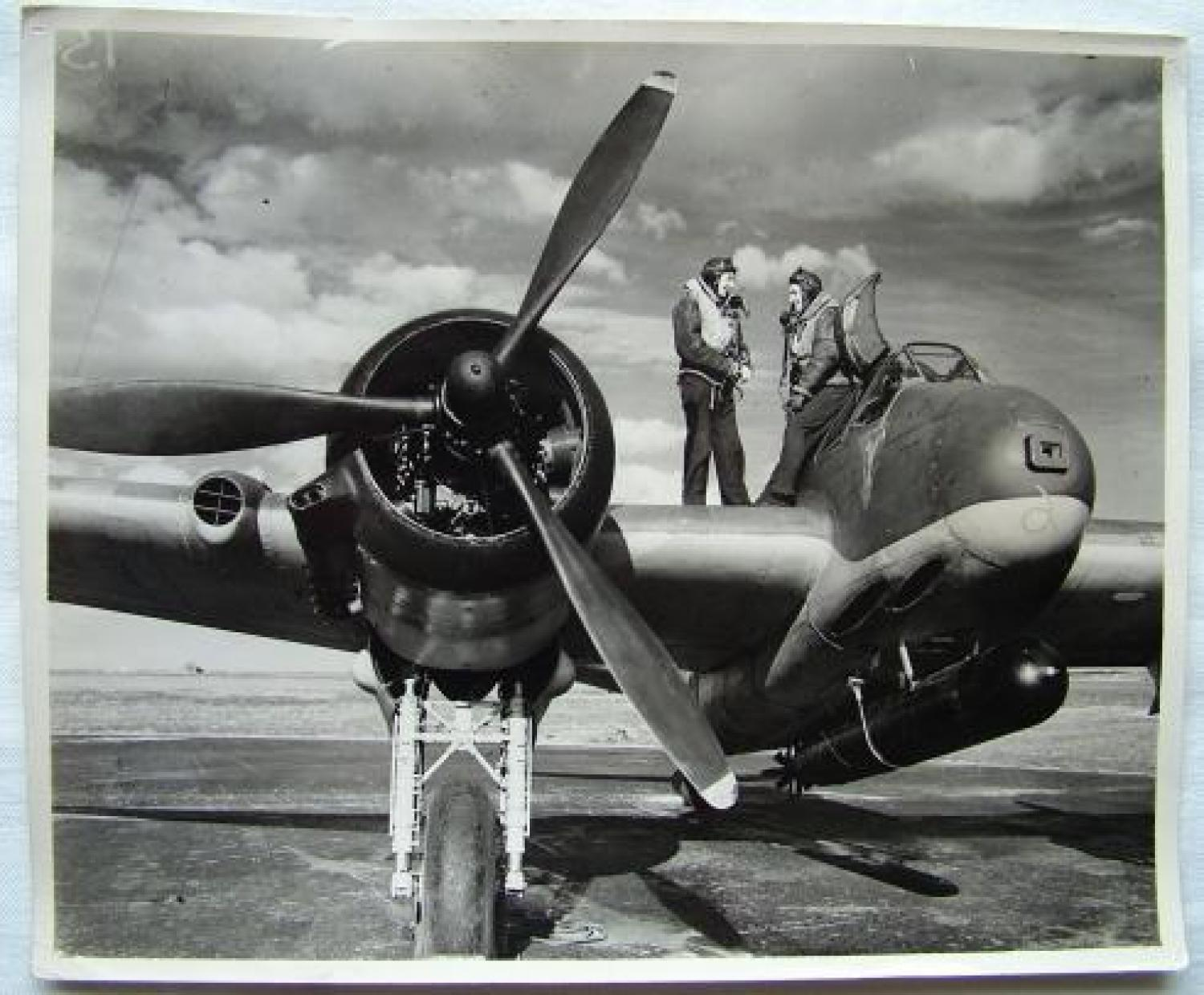 Air Ministry Beaufighter Press Photograph