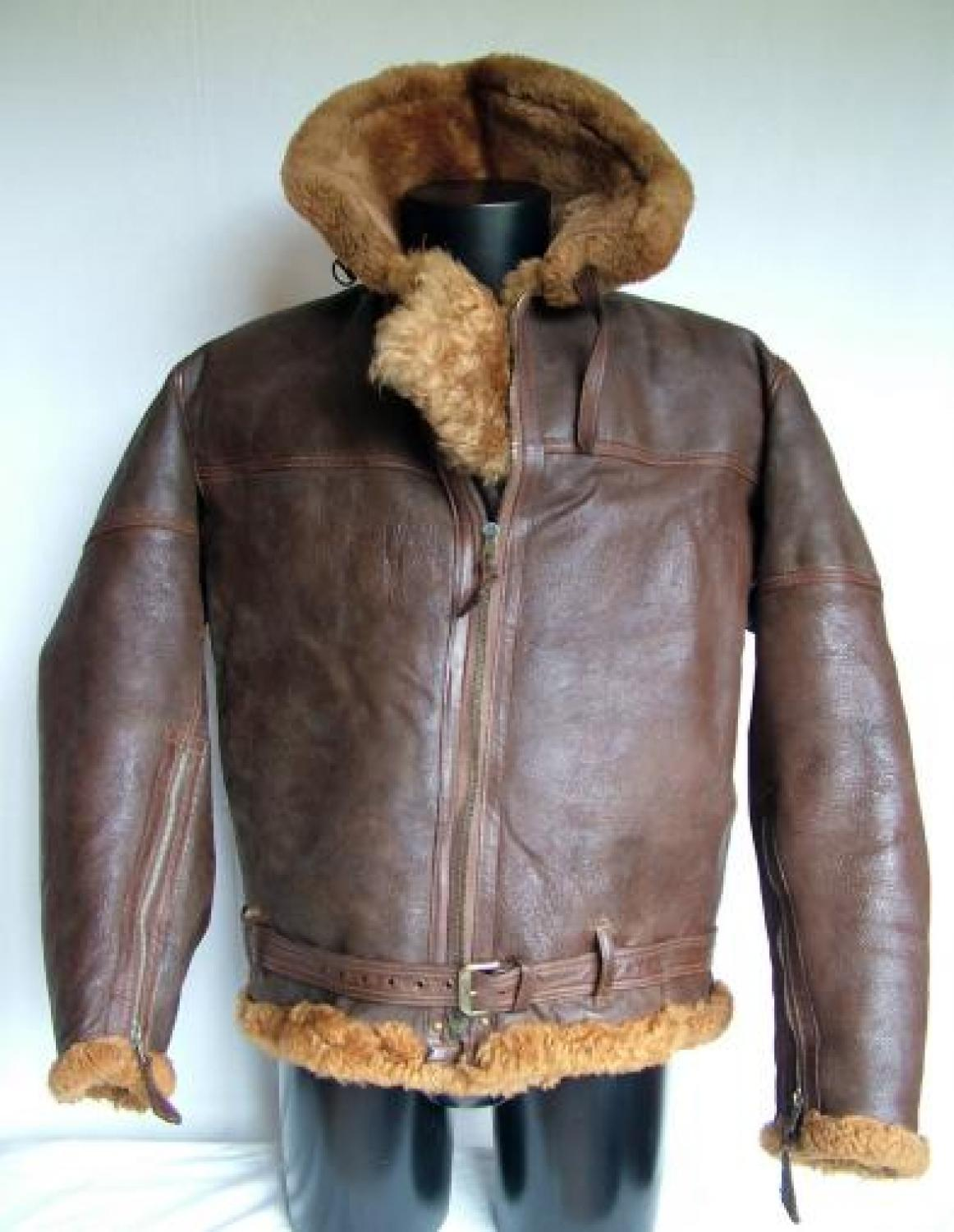 R.A.F. Irvin Flying Jacket - History