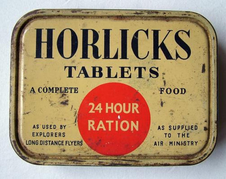 Horlicks Tablets 24 Hour Ration Tin - Full