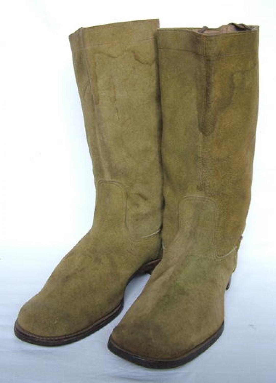 RAF 'Mosquito' / Desert Patt. Flying Boots