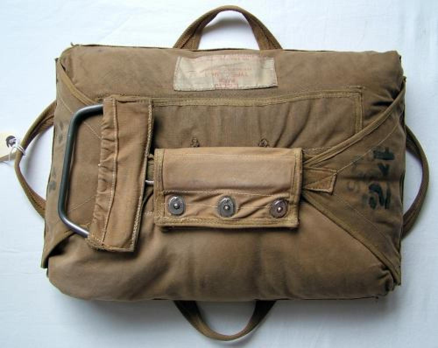 R.A.F. Observer Type Parachute Pack