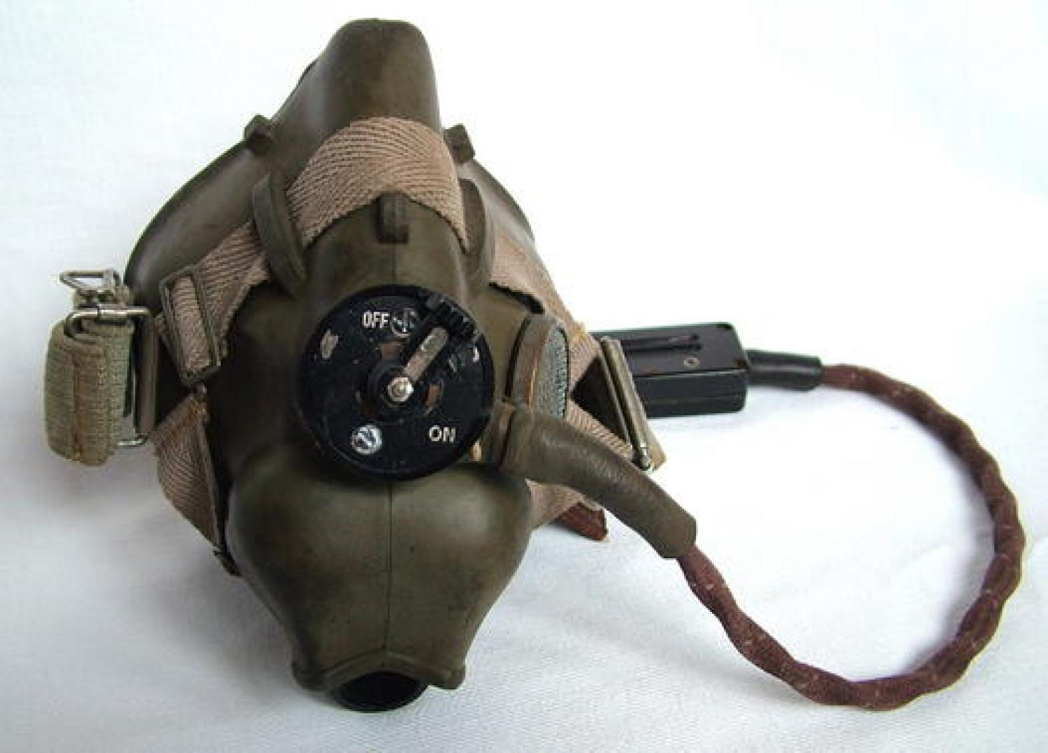 R.A.F. Type H Oxygen Mask - WW2 Dated