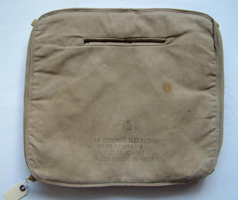 U.S.A.A.F. Seat-Type Parachute Cushion