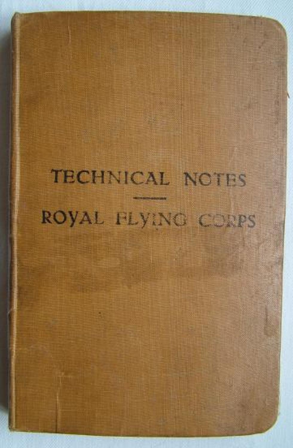 Royal Flying Corps Technical Notes, 1916