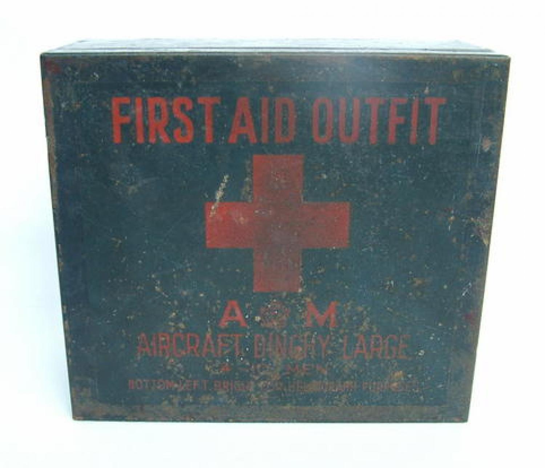R.A.F. Survival Dinghy First Aid Tin