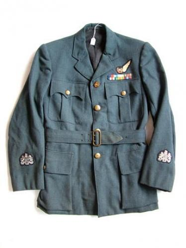 RAF Airgunner Service Dress Tunic - Named