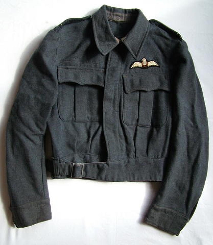 R.A.F. Pilot's Battedress Blouse