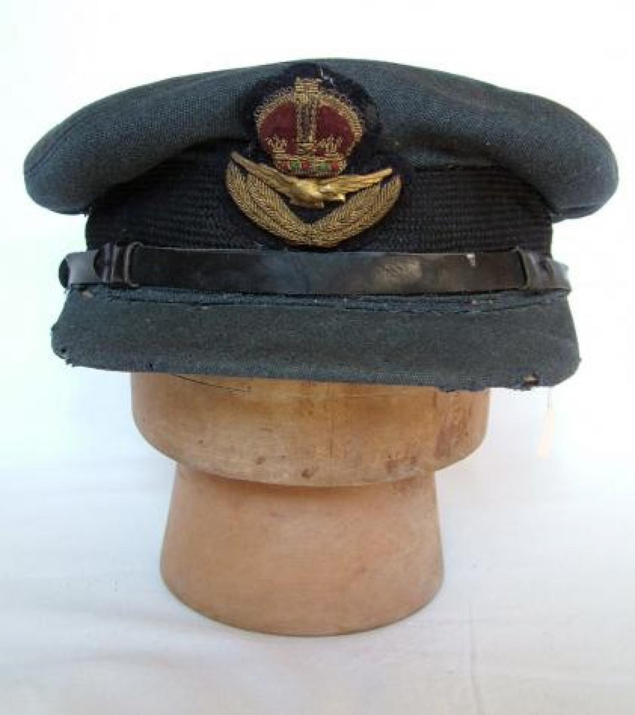 R.A.F. Officer Rank Service Dress Cap