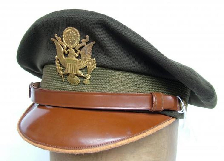 U.S.A.A.F. Officer's 'Crusher' Visor Cap
