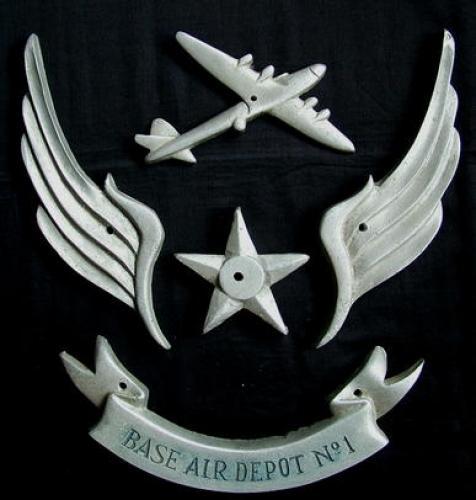 U.S.A.A.F. 8th AAF Base Depot Sign