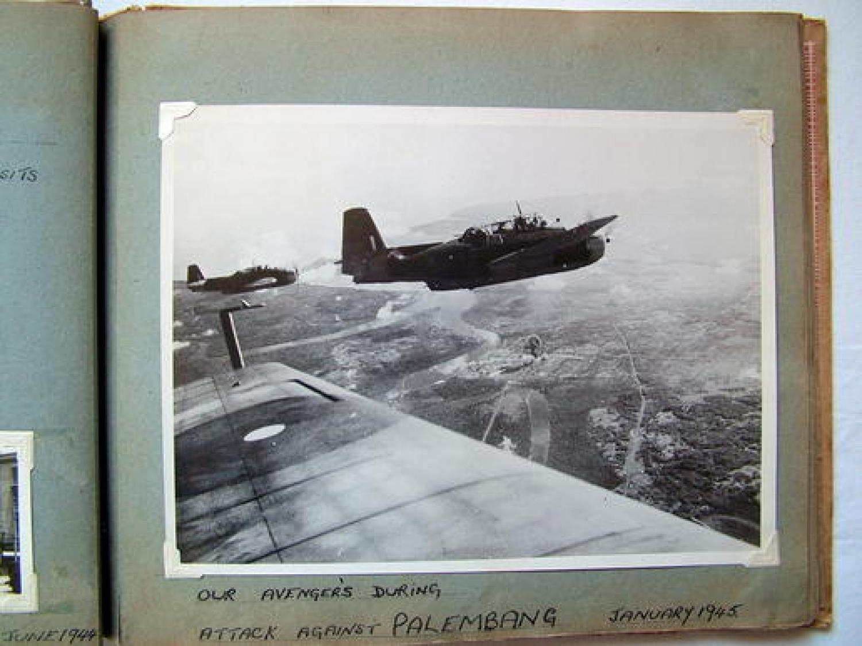 WW2 FAA Photograph Album - HMS Indomitable