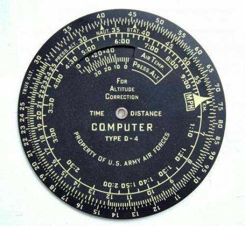 USAAF Type D-4 Navigational Computer