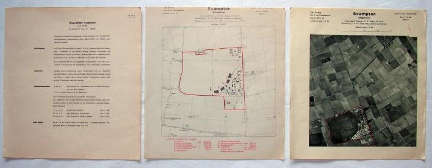 Luftwaffe Target Map/Documents - Scampton