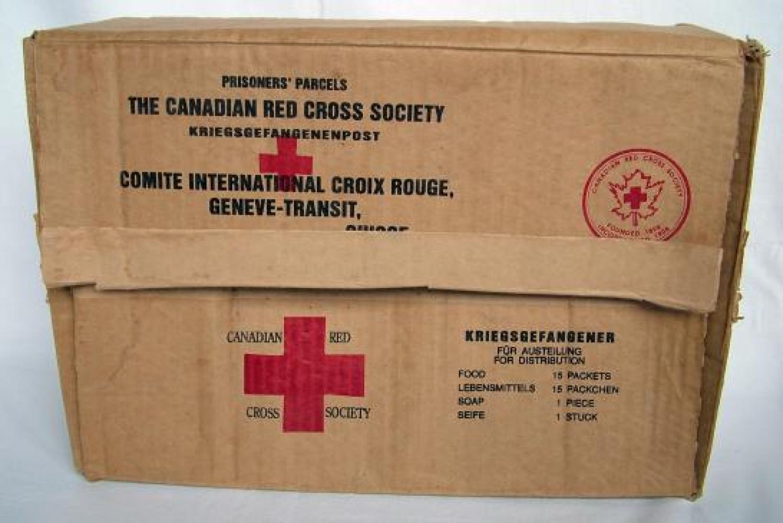Canadian Red Cross Society P.O.W. Box
