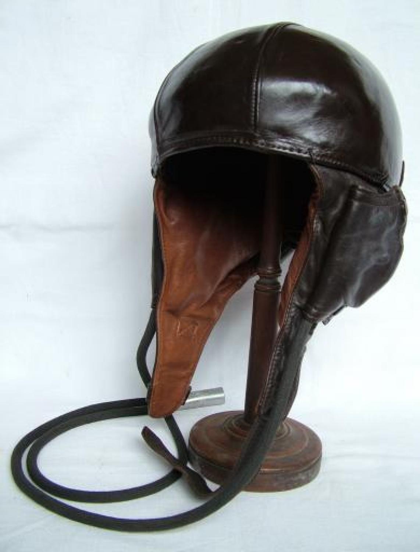 French Airaile Flying Helmet c.1940